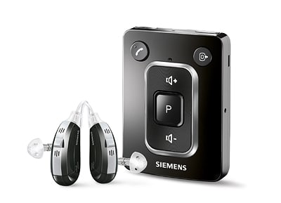 Siemens miniTek – Audio Streamer and Hearing Aid Remote Control